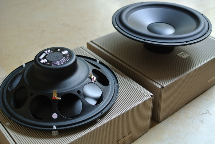 10″ Bass & Mid Woofer for Open Baffle – PureAudioProject