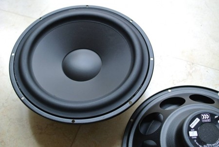 PAP1075 – 10inch Open Baffle Bass Woofer designed by Morel for PureAudioProject