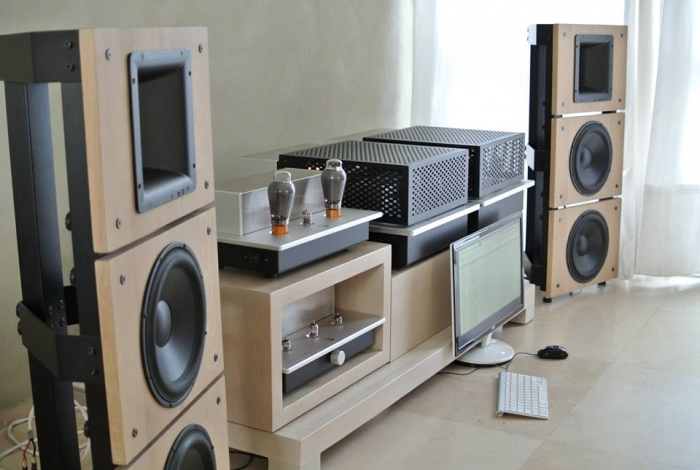 Trio10 Beyma Open Baffle Speakers by PureAudioProject with