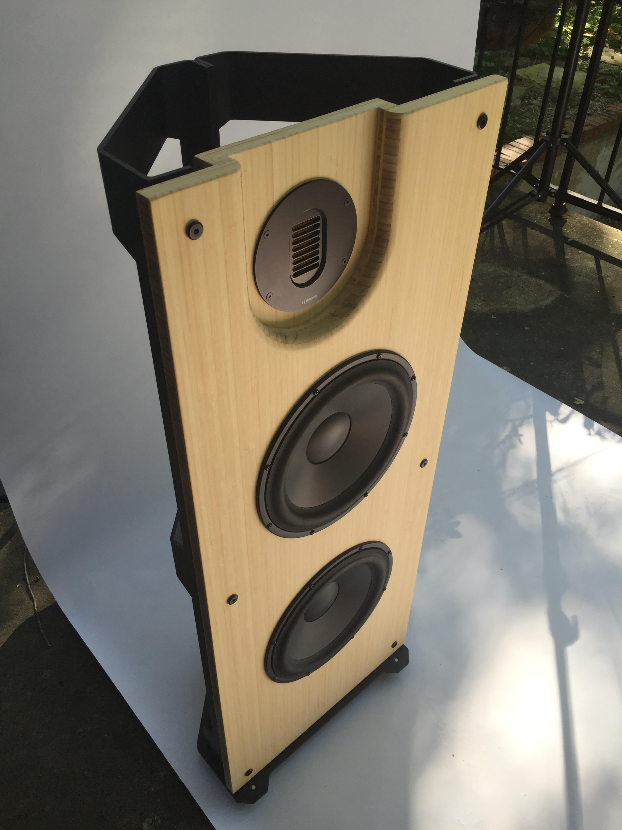 Trio10 Mundorf AMT, Open Baffle Speakers – PureAudioProject