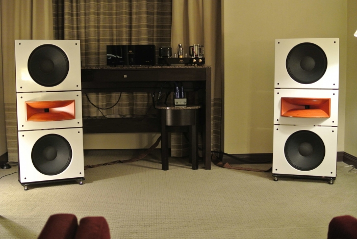 Trio15 PAP-Horn1 in Montreal with AudioNote Kit1 300b Western