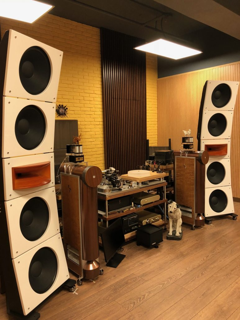 Quintet15, Wall of Sound Modular Open Baffle Speakers for