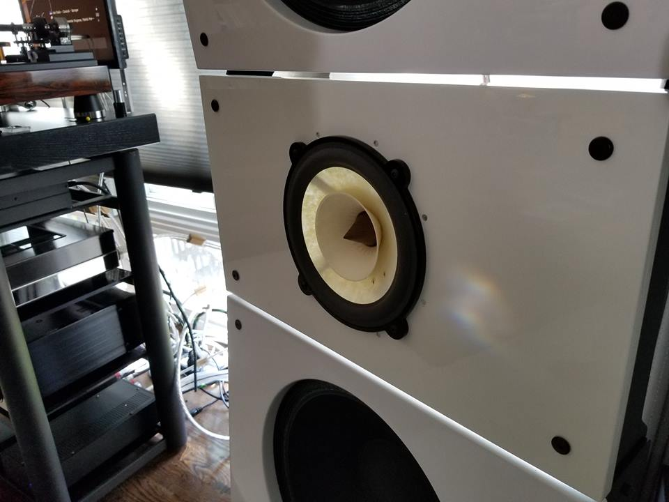 Quintet15, Wall of Sound Modular Open Baffle Speakers for Large