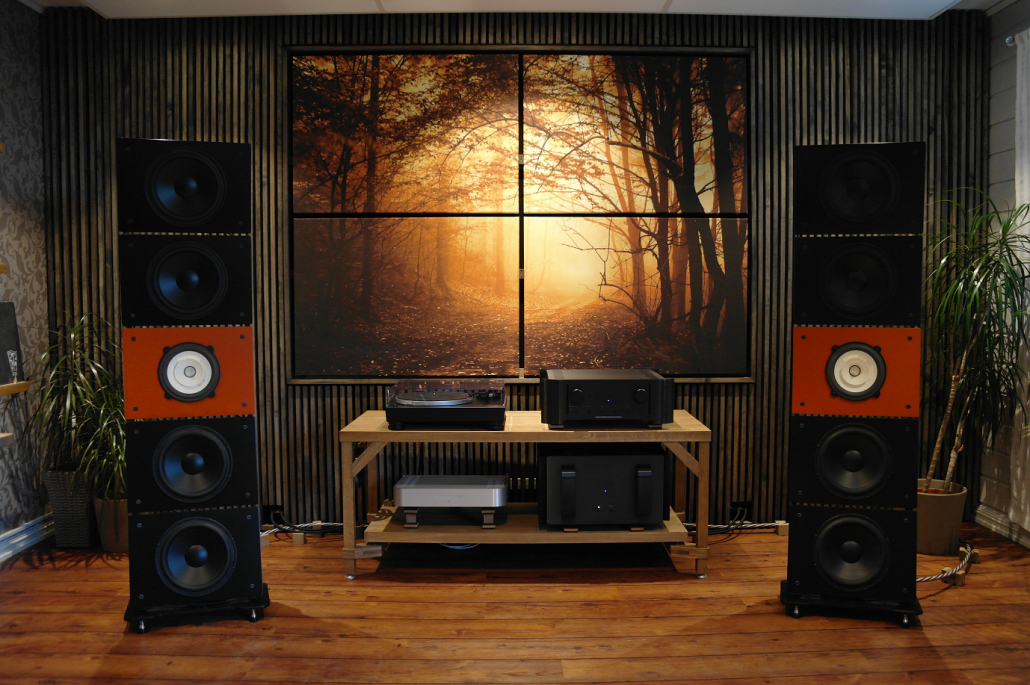 Quintet10, Wall of Sound Open Baffle Speakers – PureAudioProject