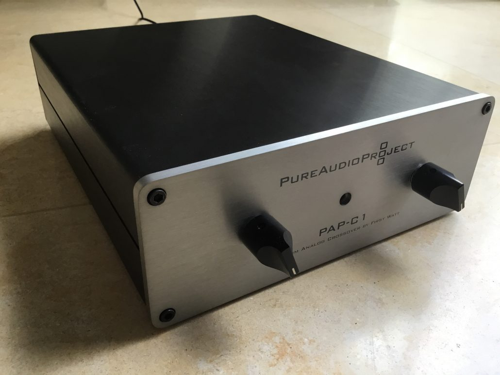 Pap C1 Custom Active Analog Crossover For Open Baffle Speaker Circuit Diagram In Addition An Designed By Nelson Pass And Firstwatt Two Way Speakers With Woofers Full Range Drivers